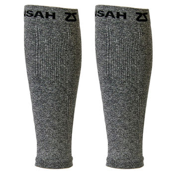 【美國Zensah】壓縮腿套-岩灰色(L~XL)