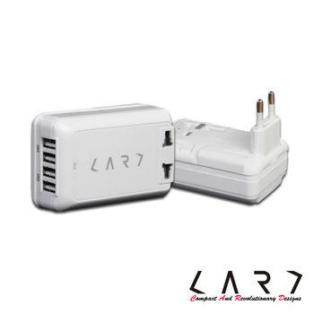 【CARD】CA4-W USB 4port/6A全球旅行萬國插座轉換器-白