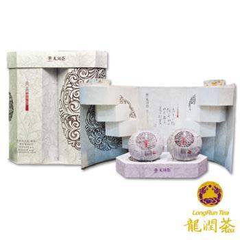 龍潤尚品步步高升沱茶禮盒(800公克/盒)-雙文堂