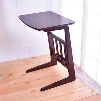 【凱堡】 實木側桌茶几桌電話架小桌 可放雜誌書籍