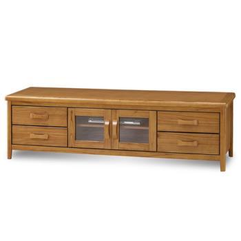 顛覆設計 絲莉愛6尺柚木實木電視櫃