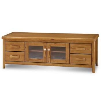 顛覆設計 絲莉愛5尺柚木實木電視櫃