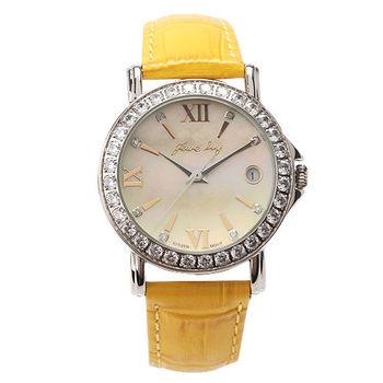 JL春之舞腕錶(黃色)