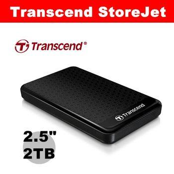 Transcend 創見 2.5吋 SJ25A3K 2TB 行動硬碟 TS2TSJ25A3K 外接硬碟