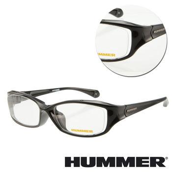 【HUMMER】粗框黑色光學眼鏡(H3-1002-C1)