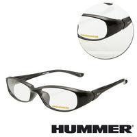 ~HUMMER~橢圓亮面黑色光學眼鏡 ^#40 H3 ^#45 1000 ^#45 C1