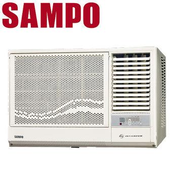 買就送【SAMPO聲寶】5-7坪變頻右吹窗型冷氣AW-PA36D