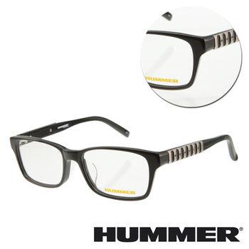 【HUMMER】方形邊條粗框光學眼鏡(H2-1002-C1)