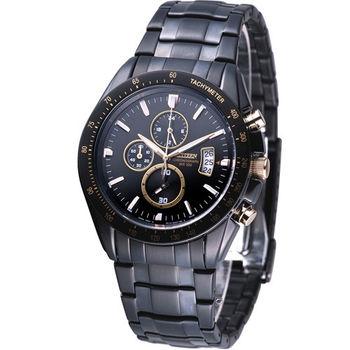 星辰 CITIZEN OXY系列競速三眼計時腕錶 AN4039-55E