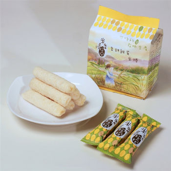 Formosa Poprice米香抱抱-香甜雞蛋,適合您寶貝的米捲!
