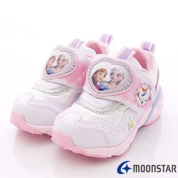 日本Carrot機能童鞋-冰雪奇緣機能款-NC11581白-(15cm-19cm)
