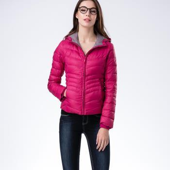 【JORDON】女款時尚壓紋羽絨外套(450)
