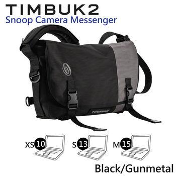 【美國Timbuk2 】Snoop相機郵差包-Black/Gunmetal (XS)