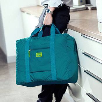 【M Square】防水折疊旅行購物袋 (四色)