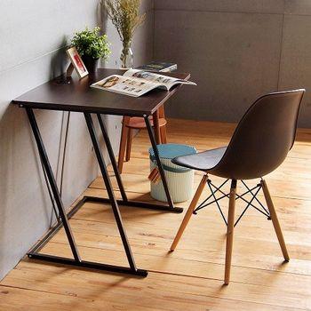 《舒適屋》簡約Z字造型電腦桌/書桌-80x60x75cm(2色可選)