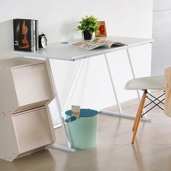《舒適屋》簡約Z字造型電腦桌/書桌-120x60x75cm(2色可選)