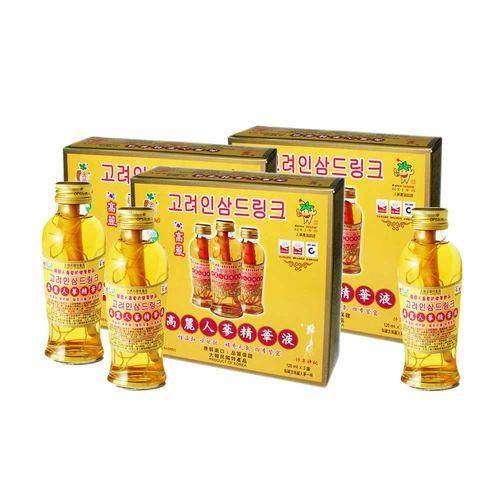 金蔘-韓國高麗人蔘精華液(120ml*3瓶 共2盒)