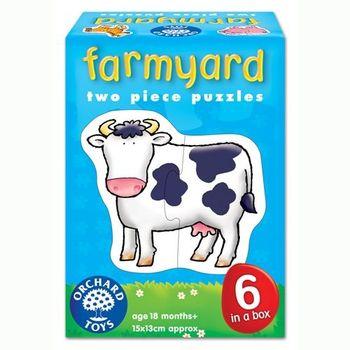 英國Orchard Toys 幼兒學習拼圖 農場系列 farmyard