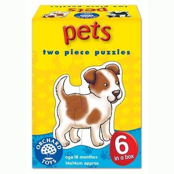 英國Orchard Toys 幼兒學習拼圖 寵物 Pets