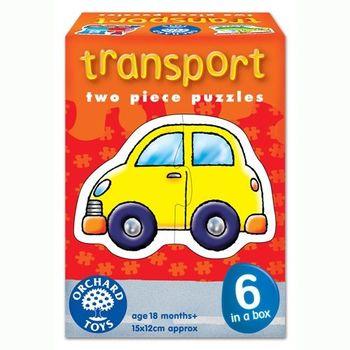 英國Orchard Toys 幼兒學習拼圖 交通工具 transport