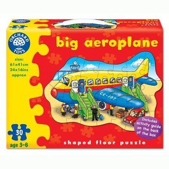 英國Orchard Toys 幼兒學習大拼圖 飛機 Big Aeroplane