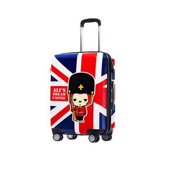 GO TRIP 尚旅 24吋 阿狸國旗風卡通行李箱/拉桿箱/旅行箱