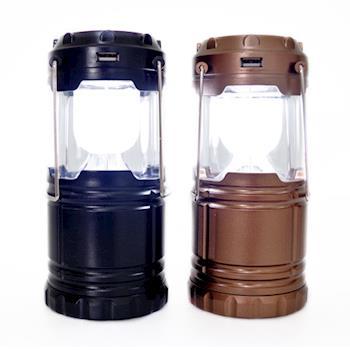 LED 野外求生照明燈2入/伸縮露營燈/緊急照明燈/G-85