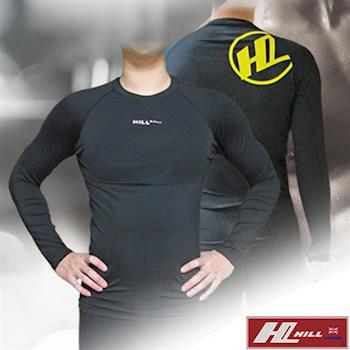 【HILL】+PLUS 台灣製 長袖機能運動緊身衣(PS004)