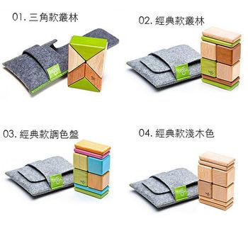 美國 tegu 安全無毒磁性積木 - 經典款口袋組/三角口袋組