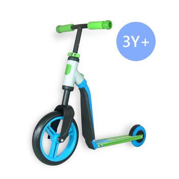 奧地利Scoot  Ride Highwaybuddy兒童滑步滑板平衡車-田園綠(3Y+)