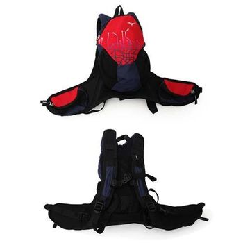 【MIZUNO】背包 -雙肩包 旅行包 後背包 登山 美津濃 紅丈青
