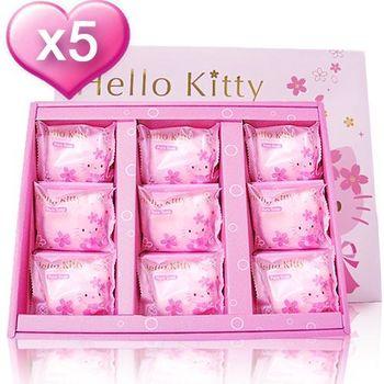 KItty櫻花香氛9皂禮盒5件組