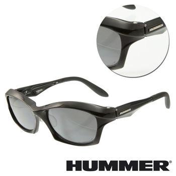 【HUMMER】粗框黑色太陽墨鏡(VORTEC-902-BK)
