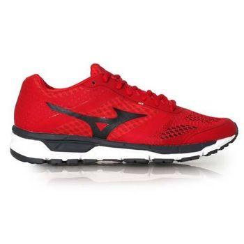 【MIZUNO】SYNCHRO MX 男慢跑鞋- 路跑 美津濃 健身 訓練 紅黑