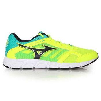 【MIZUNO】SYNCHRO SL 男慢跑鞋 - 路跑 美津濃 螢光黃湖水綠