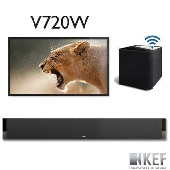KEF 英國 V720W 數位Hi-Fi SoundBar系統 打造數位Hi-Fi劇院(不含電視)
