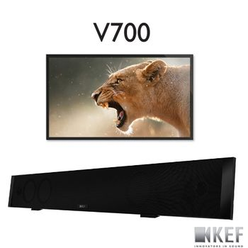 KEF 英國 V700 數位Hi-Fi SoundBar系統 (不含電視)