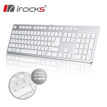 i-Rocks IRK01巧克力超薄鏡面鍵盤