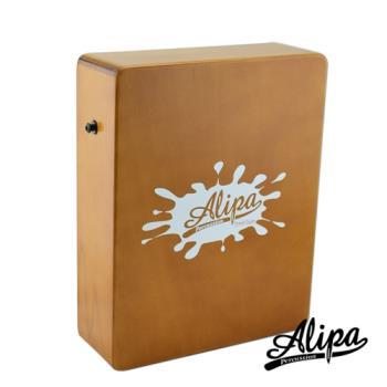 【Alipa】入門超值組合Cajon 旅行用迷你木箱鼓(原木)+攜行袋+教學書