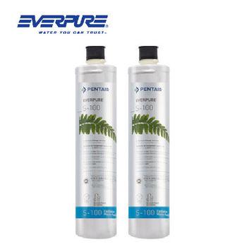 【EVERPURE】S-100淨水器專用濾芯(平行輸入)/美國原裝進口S100濾芯二支