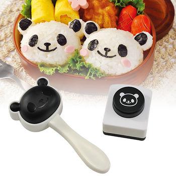 日本Arnest創意料理小物-可愛熊貓頭飯糰模型
