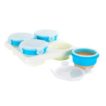 2angels 副食品矽膠儲存杯/冰磚盒-60ml(四入)