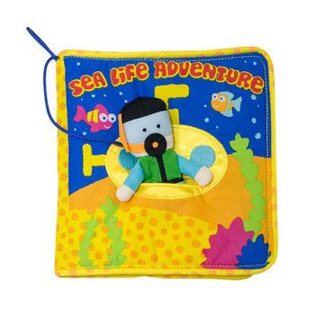美國Manhattan Toy-海底世界軟布書