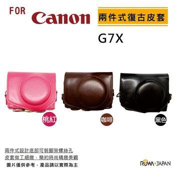 ROWA FOR Canon G7X 系列 專用復古皮套