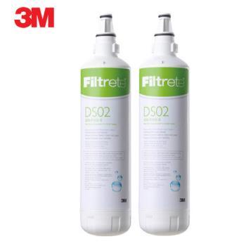 《3M》DIY簡易型全面級DS02淨水器替換濾心 DS02-R 二支
