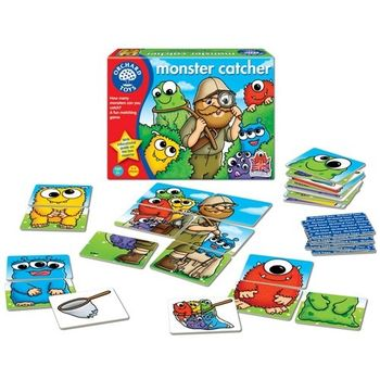 英國Orchard Toys 幼兒桌遊  Monster Catcher 怪物獵人