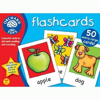 英國Orchard Toys 幼兒學習大閃卡 flash cards