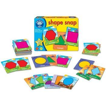 英國Orchard Toys 幼兒桌遊  shape snap 形狀學習圖卡