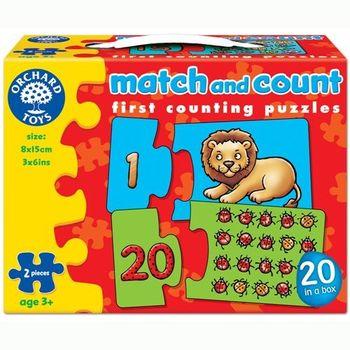 英國Orchard Toys 幼兒配對拼圖 數數 match and count