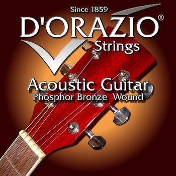 義大利手工製 DORAZIO 磷青銅 木吉他弦(No.21B)